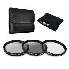 72mm UV ND4 Neutral Density CPL Circular Polarizing Lens Filter Kit For Canon