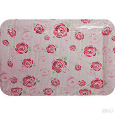 2 X Plastic Food Tray Surface Serving Dinner Bar Large Design Printed 33x24.5cm