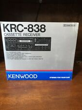 Kenwood  KRC-838 Cassette Receiver Tape Deck Player NOS