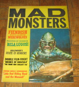 MAD MONSTERS # 2  1961  CHARLTON PUBL.