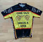 This Guy Needs A Beer Cycling Clothing Bike Jersey XL Breathable Cycling Jersey
