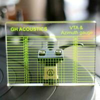 Phono Tonarm Azimut Lineal VTA Patrone Mess Acryl Vinyl Plattenspieler G3M2