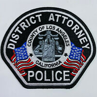 District Attorney Police California CA Patch (B1)