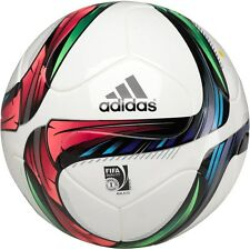 Adidas / Conext 15 Top Match Replica Football White/Night/Green/Black - Size 5