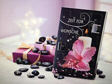 Adventskalender Zeit für Wünsche - Steine- Feng Shui - Wunschsteine - NEU