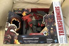 TRANSFORMERS The Last Knight Turbo Changer Dragonstorm Mega 1-Step Cyberfire