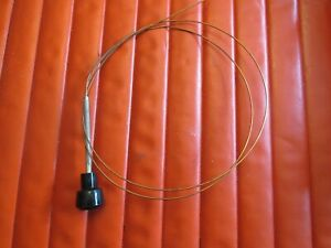 1957-1959 Studebaker truck carb choke control button,wire