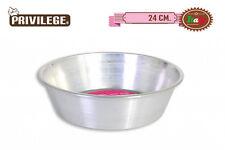 DEEP 24cm Aluminium Baking Cake mould Tin Round Oven Tray Bakeware privilege