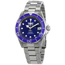 Invicta 17040 Pro Diver Automatic Date Blue Dial Stainless Steel Mens Watch