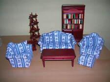 Salon Equipement complet De luxe Living Room Maison de poupée 1:12 tapez DF896