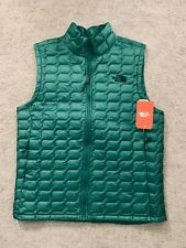 North Face Men's ThermoBall Vest light weight puffer jacket Size L large NEW