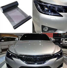 Black Tint Sticker Auto Car Smoke Fog Light Headlight Taillight Vinyl Sheet Film