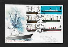 GREAT BRITAIN 1969 FIRST DAY COVER BRITISH SHIPS QUEEN ELIZABETH 2