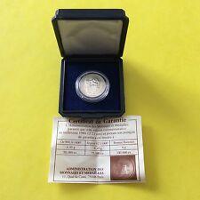Médaille en argent France Charles de Gaulle 1980