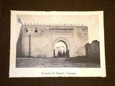 La Porta di Tangeri a Larache Marocco