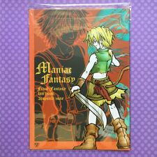 "Used Doujinshi: Final Fantasy 7 8 9 10 ""Maniac Fantasy"" Tidus & Zidane JAPAN"