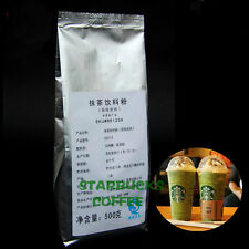 500gX 2 Bag Starbucks Matcha Green Tea Powder  Matcha Tea Latte Freen Shipping