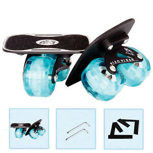 Inline Drift Plates Skate Portable Anti-Slip Board Split Surf Snow Skate Style