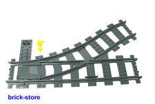 LEGO® Eisenbahn Schienen Weiche links Für  (7938,7939,7897,7898,3677,10219)