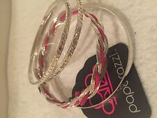 Paparazzi Bracelet (new) Never Missed A Beat Pink - 576