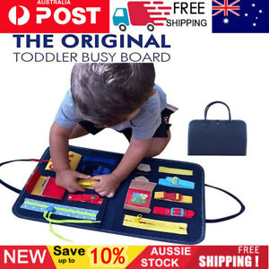 Montessori Toy Sensory Board Toddlers Ntelligence Development Educational Toy AU