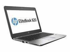 "HP Elitebook 820 G4 Core i7 7600U 2.80GHz 12.5"" 256GB SSD Warranty 04/10/21"