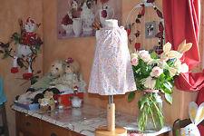 robe  cyrillus 6 mois liberty orange bleu blanc craquante