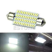 Bright White 42mm 48 LED 3014 SMD Car Interior Festoon Dome Light Bulbs Lamp