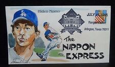 "HIDEO NOMO WILD HORSE ""HAND PAINTED ARTIST SIGNED"" CACHET #88 of 90"