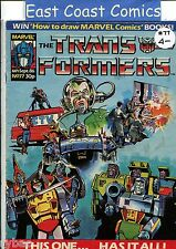 TRANSFORMERS # 77 - MARVEL UK WEEKLY COMIC 1980's