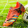 Fashion Men's Kids Soccer Cleats Shoes Outdoor Football Sneakers Long Spikes
