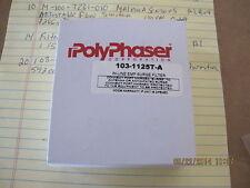 PolyPhaser In-Line EMP Surge Filter / Lightning Arrestor 103-1125T-A 75 Ohms. 2