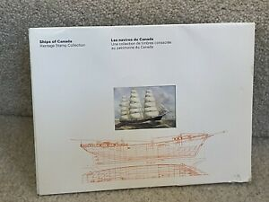 SHIPS of CANADA Heritage Stamp Collection 96pg, MNH 4 Sets Of 4 Blocks Inc.