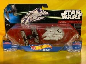 Star Wars - Hot Wheels - First Order TIE Fighter vs Millennium Falcon