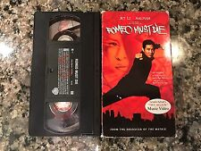 Romeo Must Die Vhs! 2000 Crime Thriller! War Hard To Kill Rapid Fire Hard Target