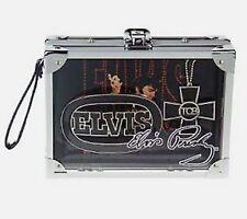 Elvis Presley Belt Buckle & Chopper Necklace Pendant King of Rock Roll Music New