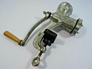 Vintage Meat Grinder No 5 Hand Crank Mincer