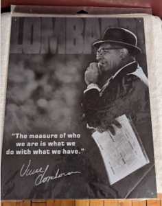 Green Bay Packers Vince Lombardi Measure Of A Man Retro Decor Metal Tin Sign
