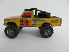 Vintage Matchbox Cars STP Son of a Gun Pontiac Firebird Racer Yellow #1808