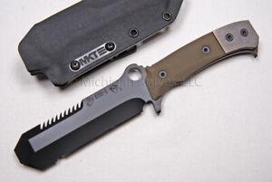Medford Knife USMC EOD w/ CPM-3V (PVD) & Green G10   (363)