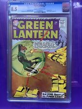 GREEN LANTERN #3 CGC VF+ 8.5; CM-OW; full page ad for Justice League #1!