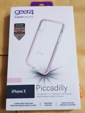 Gear4 BLACK Piccadilly With D30 World Beating Protection for iPhone X  ROSE