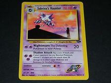 Pokemon Gym Challenge Set UN-COMMON Sabrina's Haunter 55/132 - NM/M Condition