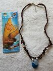 Moana Necklace Heart of Te Fiti Costume Jewelry Brand New in Package