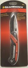 New! Gearwrench Folding Pocket Knife w/ Clip & Spring Assisted Opening #82882