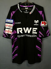 MEN'S OSPREYS 2010/2011 HOME RUGBY UNION SHIRT JERSEY CAMISETA MAILLOT SIZE L