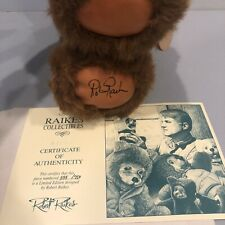 Limited Edition Robert Raikes Micca Bear - Signed  555/750 New In Box With COA
