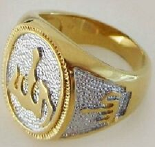 Fashion 18k gold plated Allah islam man wooman ring size 7 ! Gift Jewelry & Love