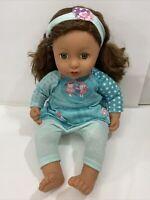 "Zapf Creation Baby Annabell Sophia So Soft Doll 17"" green eyes"