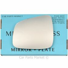For Chevrolet Daewoo Lacetti 09-14 Left side Flat wing mirror glass with plate